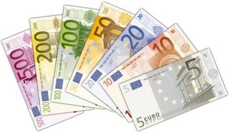 Extract Euro Notes Currency