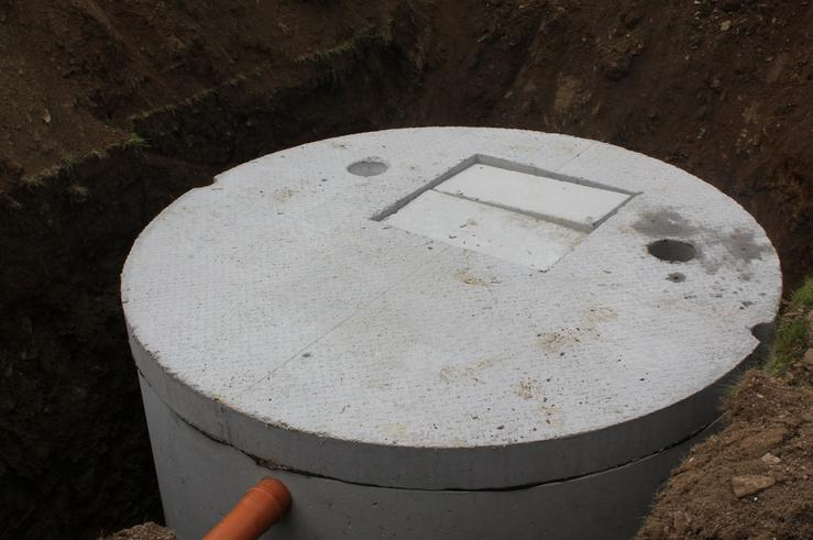 Sample Septic Tank Pre Backfilling