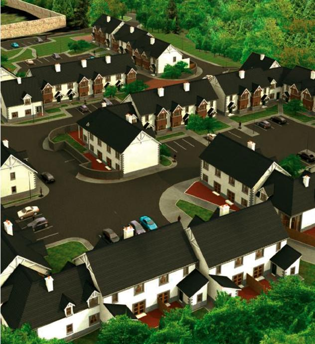 sample Aerial View Housing Scheme